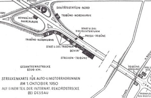 Race Course Dessau 1950