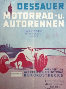 Race program Dessau