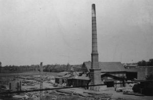 The saw mill and trading company Paul Körting in 1894